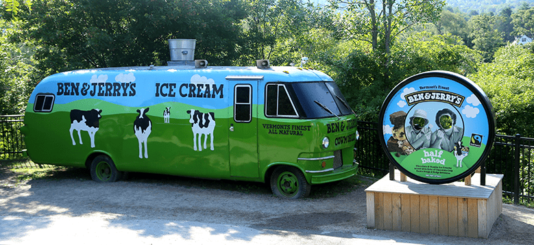 Learn and Taste Ben and Jerry's Ice Cream, the Tastiest Ice Cream in Vermont